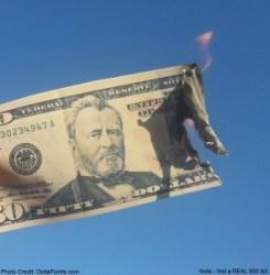 photo copy of money burning skymiles delta points blog