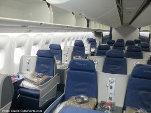 Delta 767-300 new business class seats - Delta Points blog review (5)