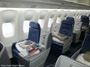 Delta 767-300 new business class seats - Delta Points blog review (6)
