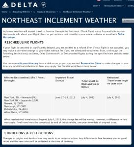 weather alert delta