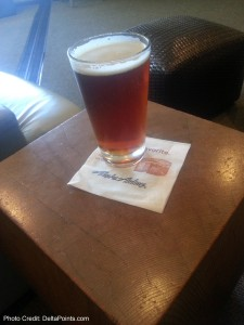 alaska amber ale alaska board room sfo airport delta points blog