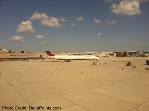 delta MD jet MKE airport delta points blog