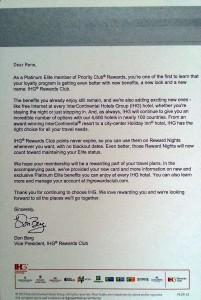 ihg platinum welcome letter delta points blog pltr-13