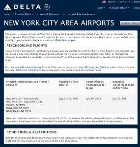 nyc airport issues delta points blog