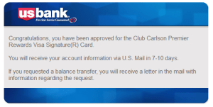 US BANK says YES to club carlson delta points blog