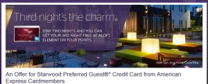 amex spg stay two get one free delta points blog