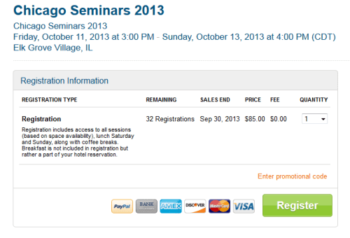 chicago seminars seats just about sold out delta points blog