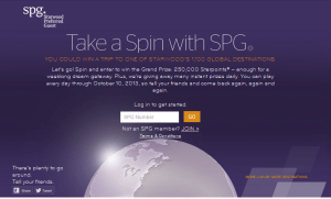 spin to win spg Delta points blog
