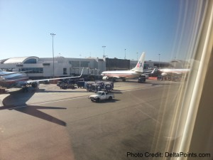 AA American Airlines jets at LAX airport Delta points blog