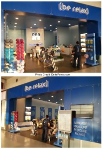Be Relax Spa DTW delta points blog