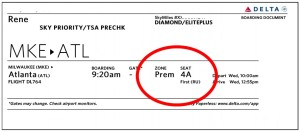 PREM boarding pass delta points blog