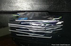 huge stack of credit cards points delta points blog