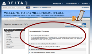 skymiles marketplace