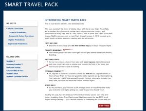 smart travel pack delta airlines delta points blog