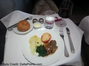 Alitalia Magnifica Class Business seat review delta points blog (1)