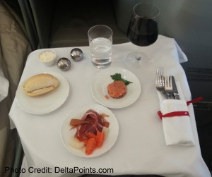 Alitalia Magnifica Class Business seat review delta points blog (11)