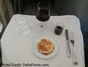 Alitalia Magnifica Class Business seat review delta points blog (2)