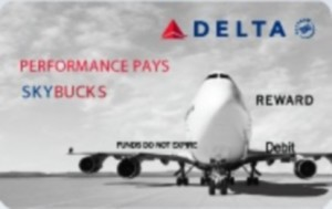 SKYBUCKS card delta employee rewards delta points blog