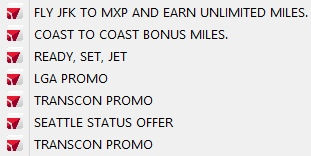 list of targeted delta airlines promotions delta points blog