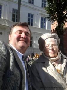 rene and my mom gothenburg sweden delta points blog