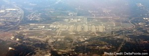 atlanta ATL airport Mileage Run Delta Points travel blog rene MKE to LAX (1)