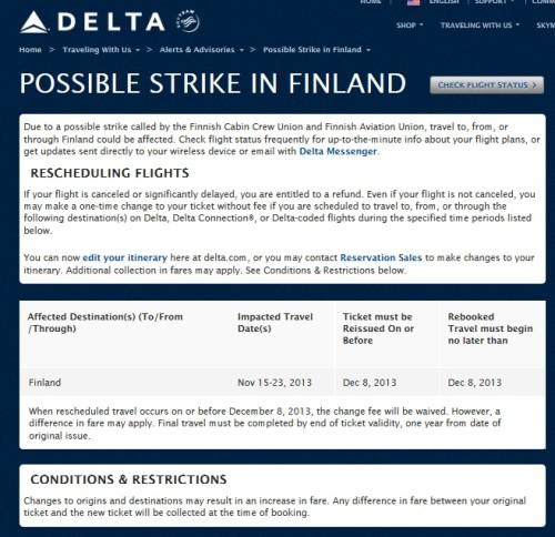 delta strike in finland delta points blog