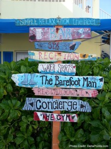 the reef resort sign grand cayman island delta points blog