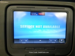 no working TV Delta 767-300 atl-sfo delta points blog