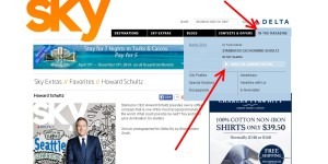 how to download the delta SKY magazine in PDF to read off-line 1