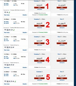 possible new award chart finding seats skymiles2015