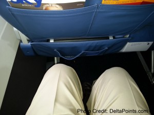 not that much leg room 1st class delta 717-200 delta points blog