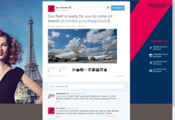 airfrance tweets back they do their best to give ff seats to skymiles