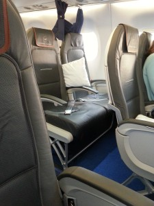 Intra Europe lufthansa seats business class GOT delta points blog (2)