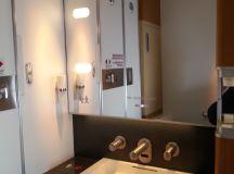 Lufthansa 747-8 1st class bathroom delta points blog ...