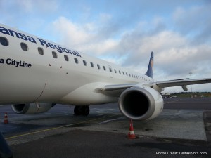 Lufthansa regional jet GOT delta points blog (3)