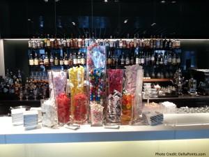 candy lufthansa 1st class terminal fra delta points blog