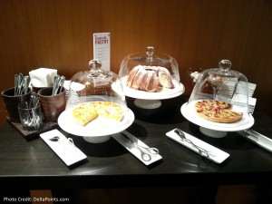 dessert option lufthansa 1st class terminal fra delta points blog