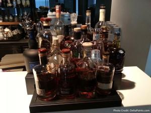 drinks lufthansa 1st class terminal fra delta points blog