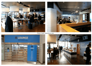 sas star alliance lounge GOT gothenburg airport delta points blog