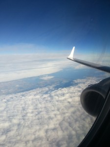 view passing over Denmark lufthansa GOT delta points blog