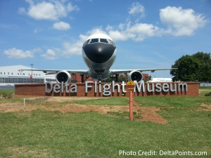 Delta Flight Museum Delta Points blog tour
