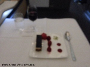 Lufthansa 1st class munich to Toronto A330 DeltaPoints blog review (13)