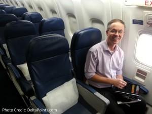 Exit row seats delta A330 atl to ams delta points blog 1