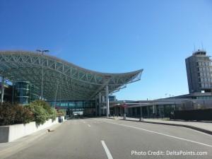 GRR airport entrance MEGADeltaMR Delta Points blog