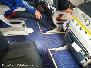 KLM E190 exit row 11 delta points blog (2)