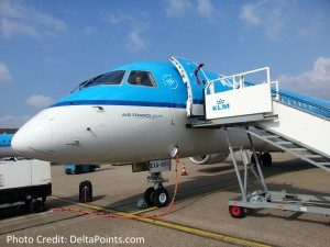 klm city hopper jet ams delta points blog