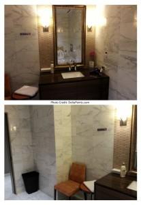shower Korean Air lounge LAX 1 Delta Points blog