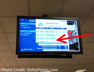 upgrade list atl-lax on a monday morning delta points blog
