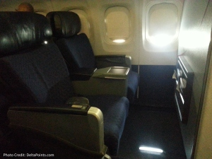 1st class seats american air dfw-ord delta points blog