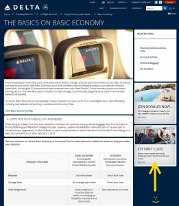 delta-com talking about basic economy seats